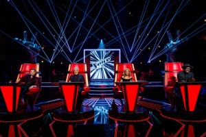 The blind audition rounds of The Voice were filmed at dock10