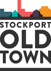 The new logo for Stockport Old Town