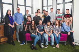 The full team at Engage Interactive