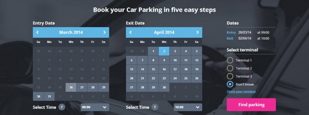 KMP's new booking system for MAG