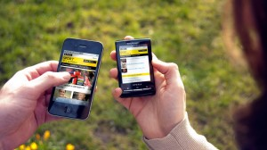 Magnetic worked on the BBC Sport app