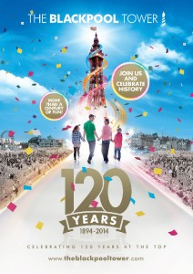 The Blackpool Tower is 120 this year