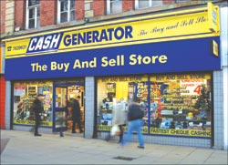 There are 220 Cash Generator stores in the UK