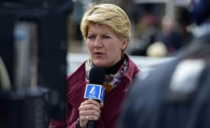 Clare Balding fronted Channel 4's coverage