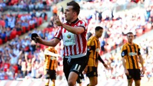 MBuzz featured on the Blades' shirts yesterday. Image: BBC