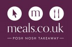 Meals.co.uk Logo Black