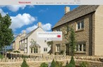 redrow.co.uk homepage screen grab