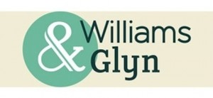 The new logo for Williams & Glyn