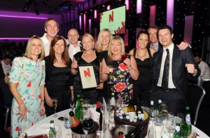 Some of the excited Prolific North award winners from last year