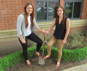 RMS PR's Emma Johnson (left) and Lucy Oates will manage the account
