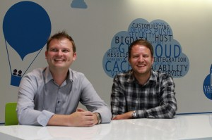 Co-founders Mike Carter and Chris Haslam