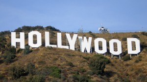 Sherwin Williams helped on the repainting of the Hollywood Sign