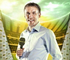 """Phil Neville was criticised for his """"monotone"""" style"""
