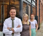 Director Tim Downs with colleagues Emma Lister and Rebecca Armstrong