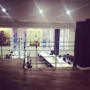 Cube3's new office in London