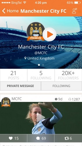 MCFC Homepage bubbly