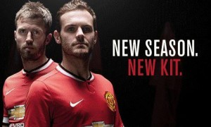 United stars last week unveiled the club's kit for 2014-15
