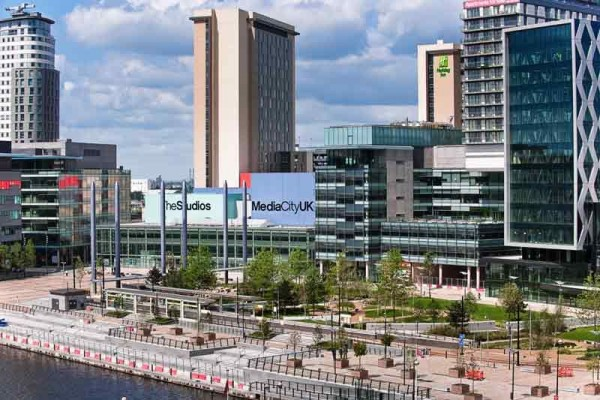 The RFL and Super League have taken space at MediaCityUK