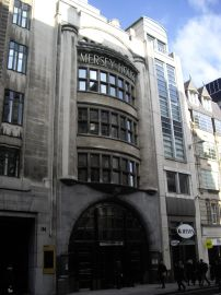 Mersey House, where Tony Austin was based in London
