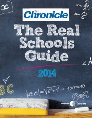 The cover of the Chronicle's Real Schools Guide supplement