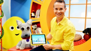 The new app modelled by CBeebies presenter Alex Winters