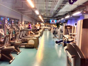 Picture: A Fitness First gym