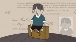 A scene from one of the animations
