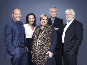 Team Influential - l t r Jon Brown  Karen Swan Sara Wilde-McKeown Chris Hulme David Heal copy