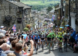 This year's Grand Départ was watched by huge crowds in Yorkshire