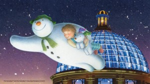 Snowman and Dome