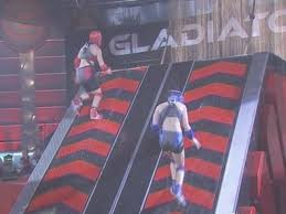 The Gladiators' travelator