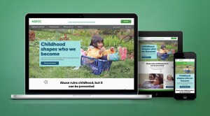 Amaze's new site for NSPCC
