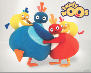 "The ""small, bird-like"" Twirlywoos"