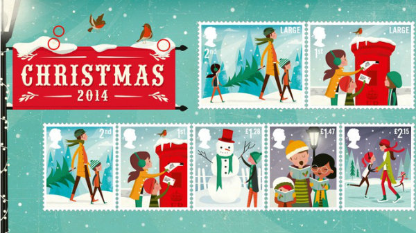 True North's stamp collection for Royal Mail