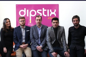 MD David Cederholm (centre) with the Dipstix team