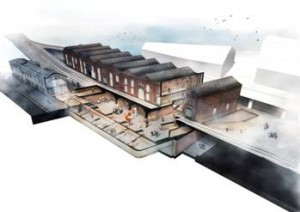 An artist's impression of the new exhibition space