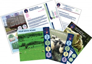 Some of the direct mail collateral
