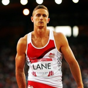 Decathlete John Lane