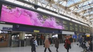 Departures Screen Takeover Waterloo1