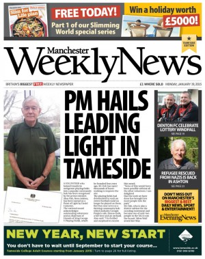 A sample of the new Manchester Weekly News