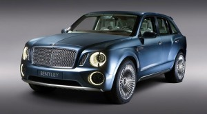 Bentley's first ever SUV, the Bentayga