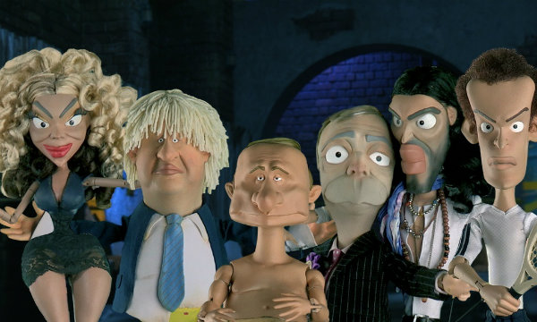 """Newzoids will feature a cast of """"outrageous and off the wall characters based on some of the world's most prolific celebrities"""""""