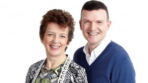 New breakfast show hosts Alison Butterworth and Phil Trow