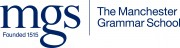 MGS logotype with Founded 1515 - PMS289 blue