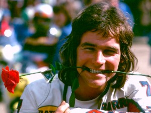 The crash almost killed Barry Sheene