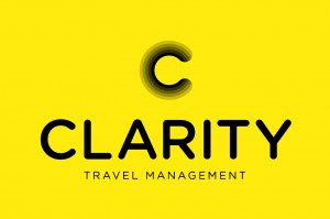 The new logo for Clarity Travel Management