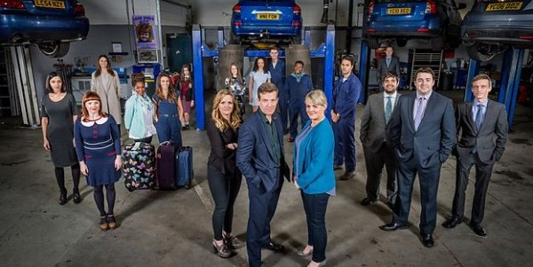 The cast of Ordinary Lies