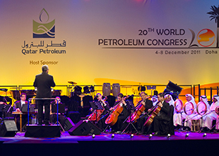 A WRG-managed event in Doha