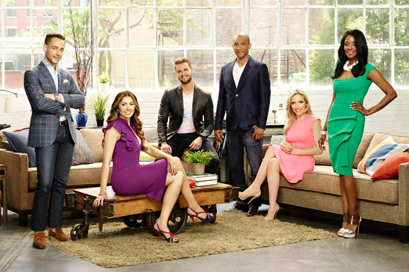 The cast of The Singles Project, Lime's series for Bravo
