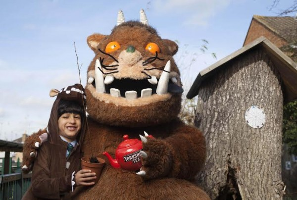 It's the first time an FMCG brand has partnered with The Gruffalo